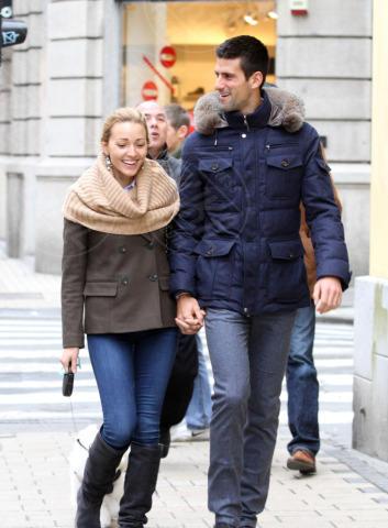 Jelena Ristic, Novak Djokovic - Belgrado - 08-02-2013 - Non solo divorzi, in arrivo una cascata di fiori d'arancio