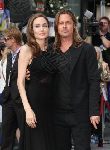 Angelina Jolie, Brad Pitt - Londra - 02-06-2013 - Non solo divorzi, in arrivo una cascata di fiori d'arancio