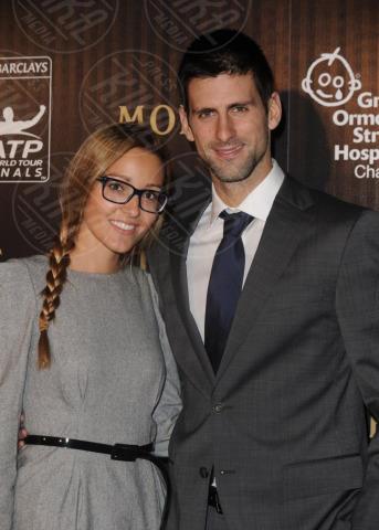 Jelena Ristic, Novak Djokovic - Londra - 18-11-2011 - Non solo divorzi, in arrivo una cascata di fiori d'arancio