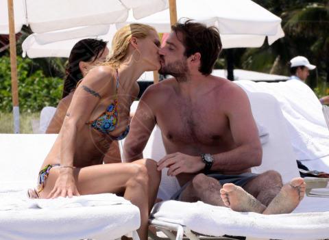 Tomaso Trussardi, Michelle Hunziker - Miami - 03-06-2012 - Non solo divorzi, in arrivo una cascata di fiori d'arancio