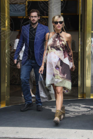 Tomaso Trussardi, Michelle Hunziker - Milano - 27-06-2013 - Non solo divorzi, in arrivo una cascata di fiori d'arancio