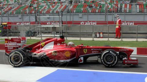 Fernando Alonso - Gran premio India - Nuova Delhi - 26-10-2013 - Formula Uno, Vettel in pole position al Gran Premio d'India