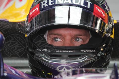 Sebastian Vettel - Gran premio India - Nuova Delhi - 26-10-2013 - Formula Uno, Vettel in pole position al Gran Premio d'India