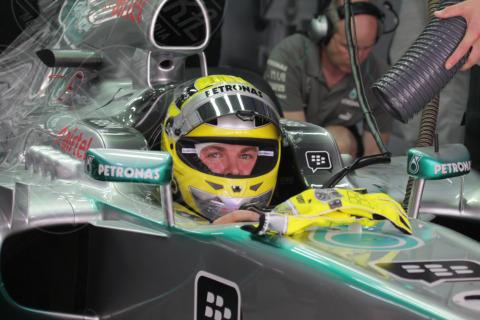 Nico Rosberg - Gran premio India - Nuova Delhi - 26-10-2013 - Formula Uno, Vettel in pole position al Gran Premio d'India
