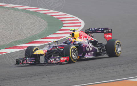 Gran premio India - Nuova Delhi - 26-10-2013 - Formula Uno, Vettel in pole position al Gran Premio d'India