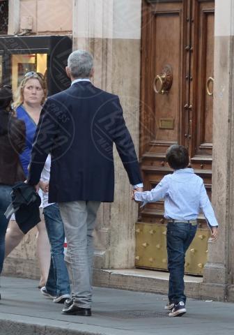 Francesco Casini, Pier Ferdinando Casini - Roma - 26-10-2013 - Pranzo in famiglia dal Bolognese per Pier Ferdinando Casini