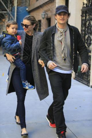 Flynn Bloom, Miranda Kerr, Orlando Bloom - New York - 26-10-2013 - Miranda Kerr e Orlando Bloom ancora insieme?