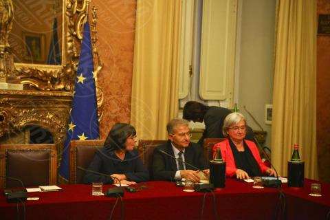 """Rosi Bindi - Roma - 28-10-2013 - Boldrini incontra San Suu Kyi: """"Un esempio per tutte le donne"""""""