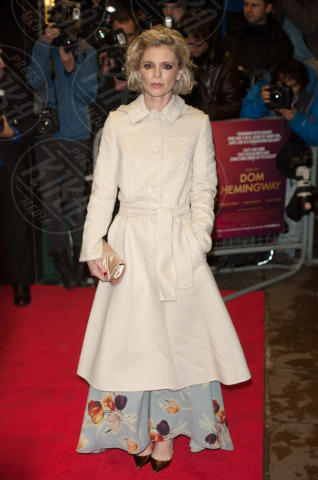 Emilia Fox - Londra - 28-10-2013 - En pendant con l'inverno con un cappotto bianco