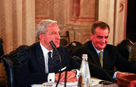 Roberto Calderoli - Giunta del Senato - Roma - 29-10-2013 - Decadenza Berlusconi: la votazione sarà palese