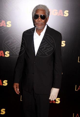 Morgan Freeman - New York - 29-10-2013 - La mano sinistra di Morgan Freeman è paralizzata