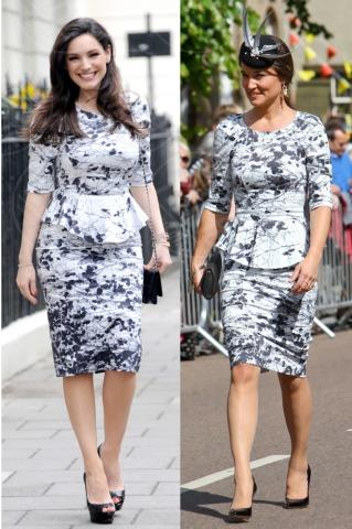 Pippa Middleton, Kelly Brook - Londra - 30-10-2013 - Kelly Brook e Pippa Middleton: chi lo indossa meglio?