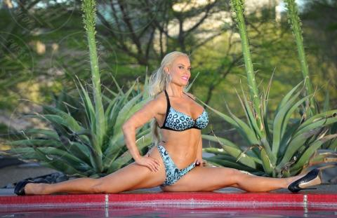Coco - Las Vegas - 13-04-2013 - Coco, la Valeria Marini d'Oltreoceano