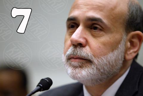 Ben Bernanke - 25-02-2009 - Forbes: Vladimir Putin è l'uomo più potente al mondo
