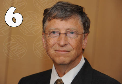 Bill Gates - Parigi - 10-10-2012 - Forbes: Vladimir Putin è l'uomo più potente al mondo