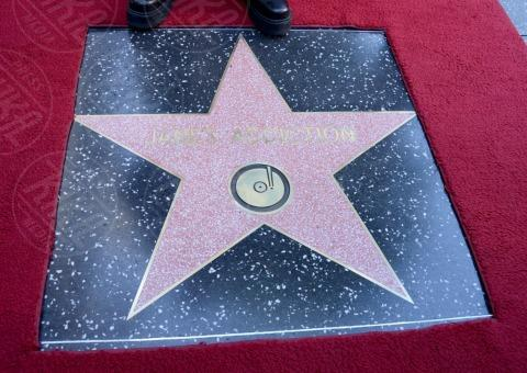 Hollywood - 30-10-2013 - I Jane's Addiction ricevono la stella sulla Walk of Fame