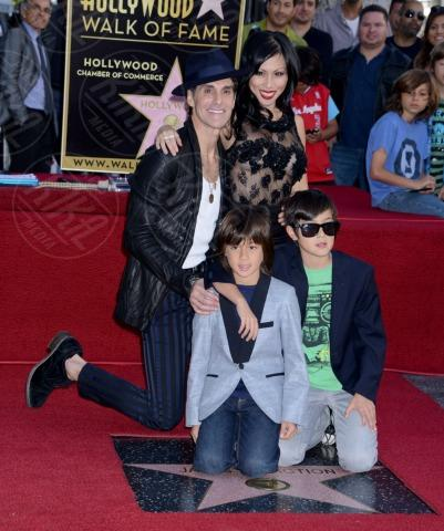 Etty Farrell, Perry Farrell - Hollywood - 30-10-2013 - I Jane's Addiction ricevono la stella sulla Walk of Fame