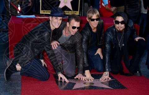 Stephen Perkins, Chris Chaney, Perry Farrell, Dave Navarro - Hollywood - 30-10-2013 - I Jane's Addiction ricevono la stella sulla Walk of Fame