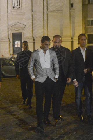 Brahim Zaibat - Roma - 31-10-2013 - Brahim Zaibat da solo a Roma non pensa a Madonna