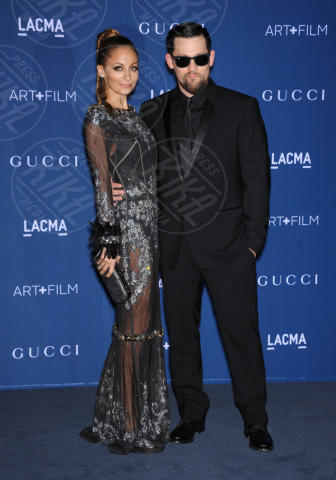 Joel Madden, Nicole Richie - Los Angeles - 02-11-2013 - Los Angeles: star del cinema e dell'arte riunite per il LACMA