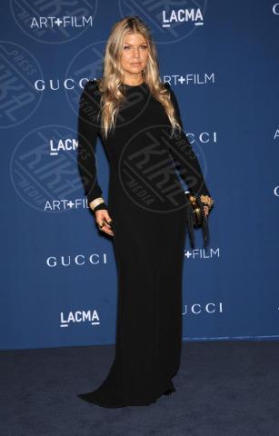 Fergie - Los Angeles - 02-11-2013 - Los Angeles: star del cinema e dell'arte riunite per il LACMA