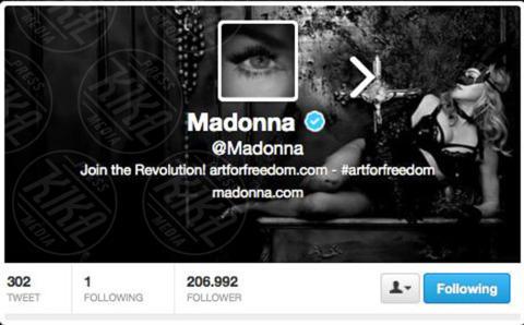 Madonna - 04-11-2013 - Katy Perry è in assoluto la persona più seguita al mondo