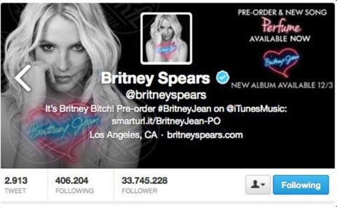 Britney Spears - 04-11-2013 - Katy Perry è in assoluto la persona più seguita al mondo
