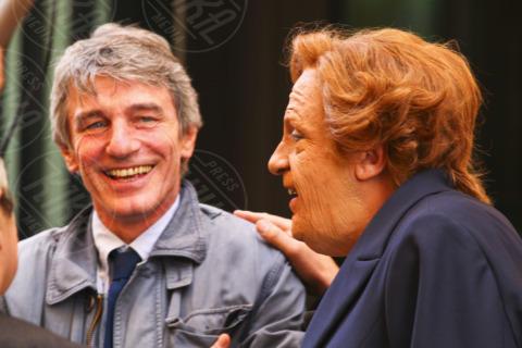 Davide Sassoli, Dario Ballantini - Roma - 04-11-2013 - Il ministro prepara la faccia per il faccia a faccia in Senato