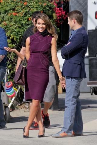 Jessica Alba, Benjamin McKenzie - Los Angeles - 04-11-2013 - Per il 2014, le celebrity scelgono il colore viola