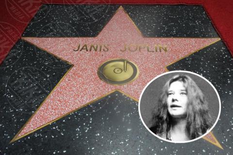 Janis Joplin - Hollywood - 04-11-2013 - Janis Joplin: nella Walk of Fame a 43 anni dalla morte