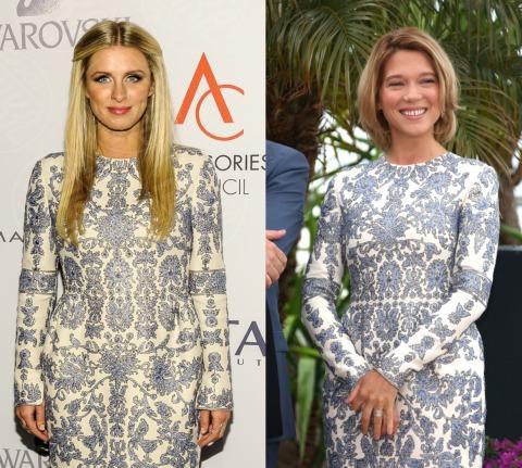 Lea Seydoux, Nicky Hilton - 05-11-2013 - Nicky Hilton e Léa Seydoux: chi lo indossa meglio?