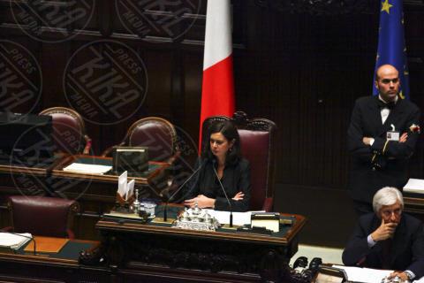 Laura Boldrini - Roma - 05-11-2013 - Annamaria Cancellieri riferisce in Parlamento sul caso Ligresti