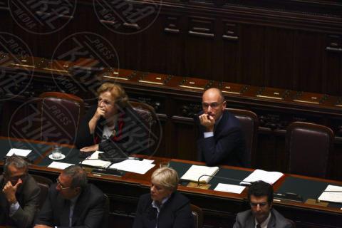 Anna Maria Cancellieri, Enrico Letta - Roma - 05-11-2013 - Annamaria Cancellieri riferisce in Parlamento sul caso Ligresti