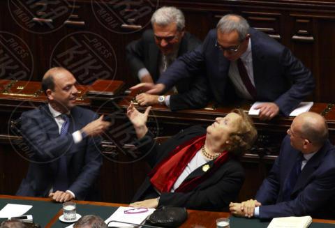 Anna Maria Cancellieri, Angelino Alfano - Roma - 05-11-2013 - Annamaria Cancellieri riferisce in Parlamento sul caso Ligresti