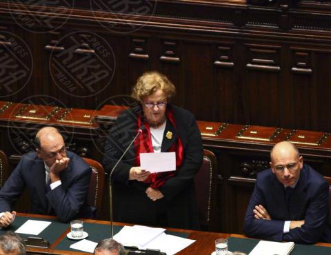Anna Maria Cancellieri, Enrico Letta, Angelino Alfano - Roma - 05-11-2013 - Annamaria Cancellieri riferisce in Parlamento sul caso Ligresti