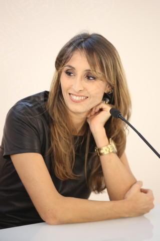 Benedetta Parodi - Milano - 05-11-2013 - Benedetta Parodi e Domenica In: il colpo di scena