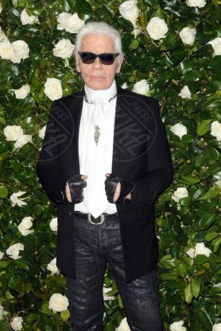 Karl Lagerfeld - New York - 05-11-2013 - Il MoMa regala una serata tributo a Tilda Swinton