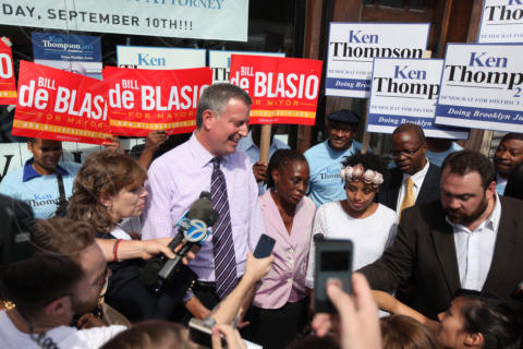 Bill De Blasio - New York - 05-11-2013 - New York parla italiano: Bill De Blasio eletto sindaco