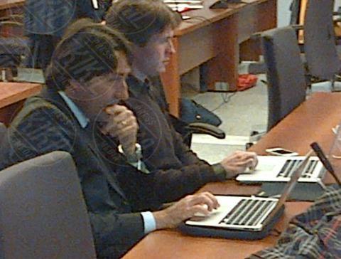 Raffaele Sollecito - Firenze - 06-11-2013 - Omicidio Kercher: le prime immagini di Sollecito in aula