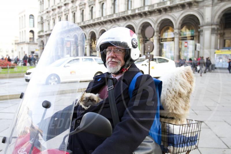 Enzo Prosperi - Milano - 06-11-2013 - Enzo Prosperi: storia di un ricco diventato clochard