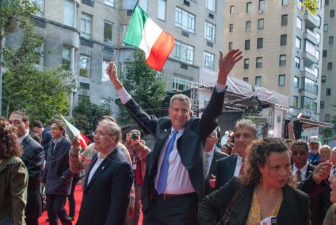 New York - 14-10-2013 - New York parla italiano: Bill De Blasio eletto sindaco