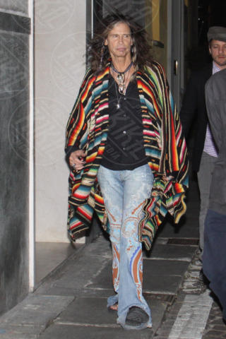 Steven Tyler - Milano - 06-11-2013 - Steven Tyler: un pesce fuor d'acqua nella modaiola Milano