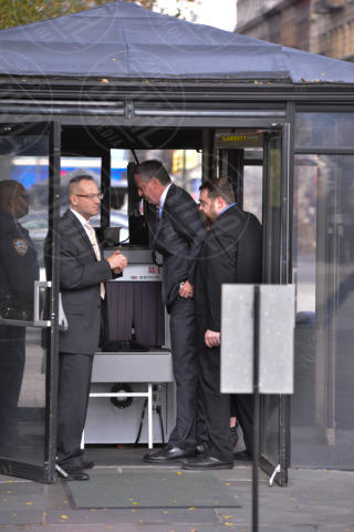 Bill De Blasio, Michael Bloomberg - Manhattan - 06-11-2013 - Passato e futuro di New York a confronto