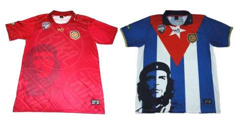 Maglia Che Guevara - Rio de Janeiro - 07-11-2013 - Con Che Guevara sulla maglia, hasta la victoria… siempre!