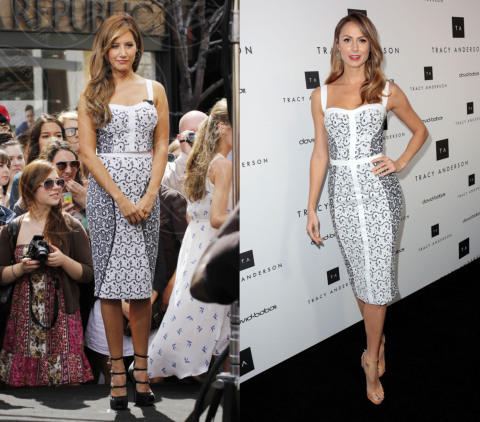 Stacy Keibler, Ashley Tisdale - 05-04-2013 - Ashley Tisdale e Stacy Keibler: chi lo indossa meglio?