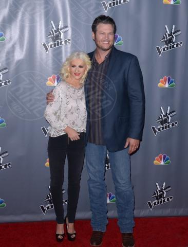 Blake Shelton, Christina Aguilera - Universal City - 07-11-2013 - Fermate Christina Aguilera: la cantante è sempre più magra