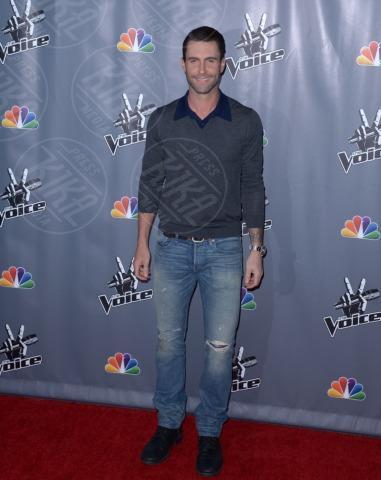 Adam Levine - Universal City - 07-11-2013 - Fermate Christina Aguilera: la cantante è sempre più magra