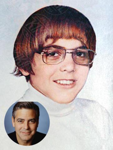 George Clooney - 07-11-2013 - Oggi è uno degli attori più belli dello showbiz: lo riconosci?