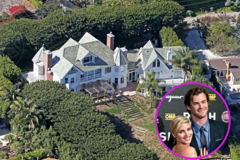 Liam Hemsworth, Elsa Pataky - Casa Helmsworth - Pataki - Malibu - 06-11-2013 - Due cuori e una grandiosa capanna: ecco casa Hemsworth – Pataky