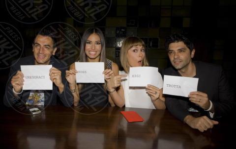 Fatima Trotta, Gigi, Elisabetta Gregoraci, Ross - Napoli - 08-11-2013 - Made in Sud torna in prima serata: risate con 40 comici